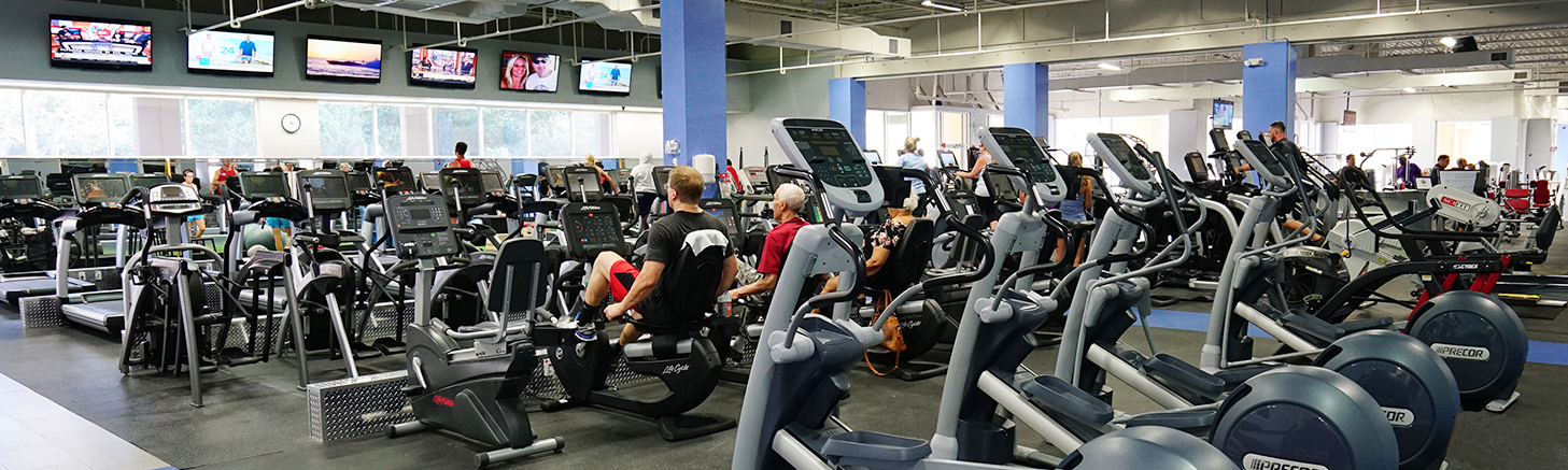 Palm Beach Gym Cardio Area